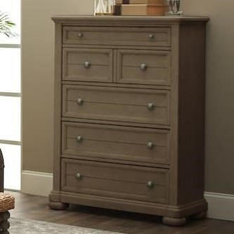 Nashville Davidson Drawer Chest by Trisha Yearwood Home Collection by Klaussner at Johnny Janosik
