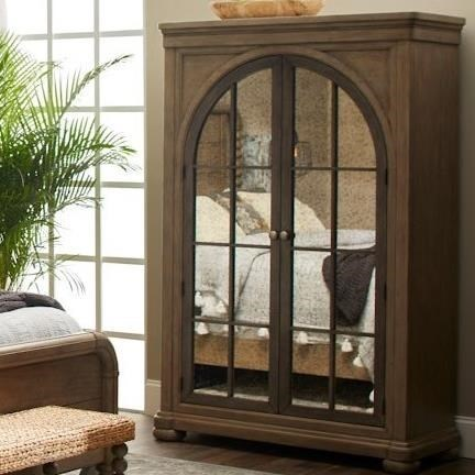 Nashville Ryman Armoire by Trisha Yearwood Home Collection by Klaussner at Johnny Janosik