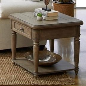 Nashville Encore End Table by Trisha Yearwood Home Collection by Klaussner at Darvin Furniture