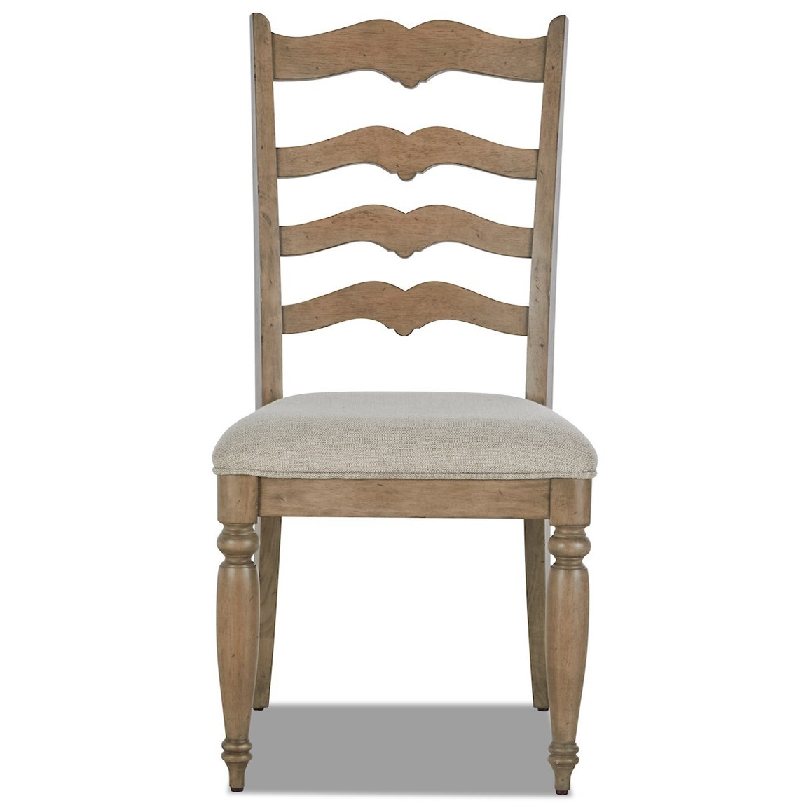 Nashville Concord Ladderback Side Chair by Trisha Yearwood Home Collection by Klaussner at Johnny Janosik