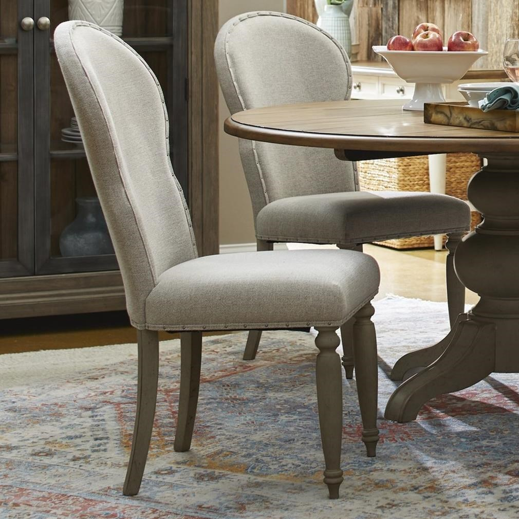 Nashville Church Street Uph Side Chair by Trisha Yearwood Home Collection by Klaussner at Johnny Janosik