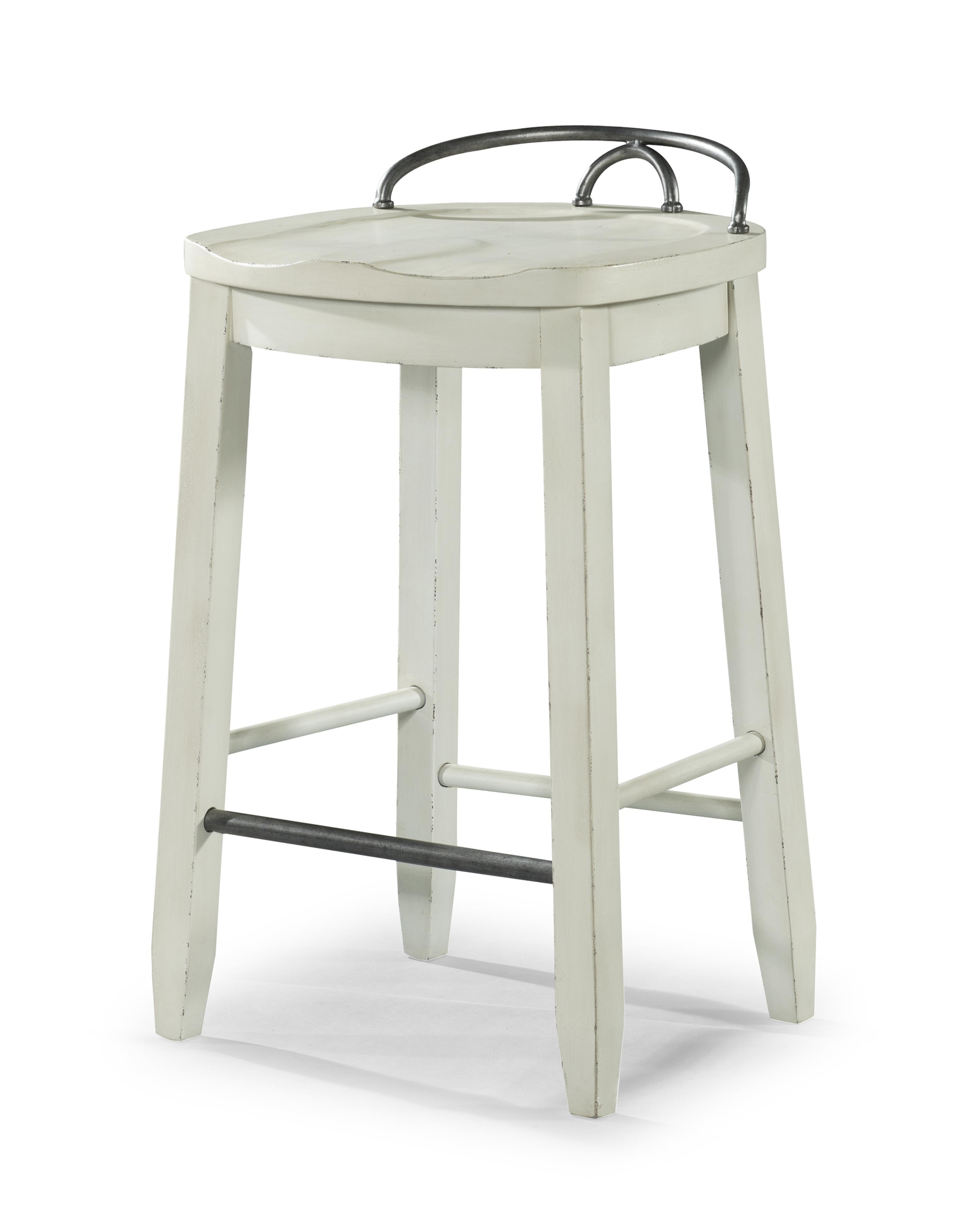 Trisha Yearwood Home Cowboy Saddle Stool by Klaussner at HomeWorld Furniture