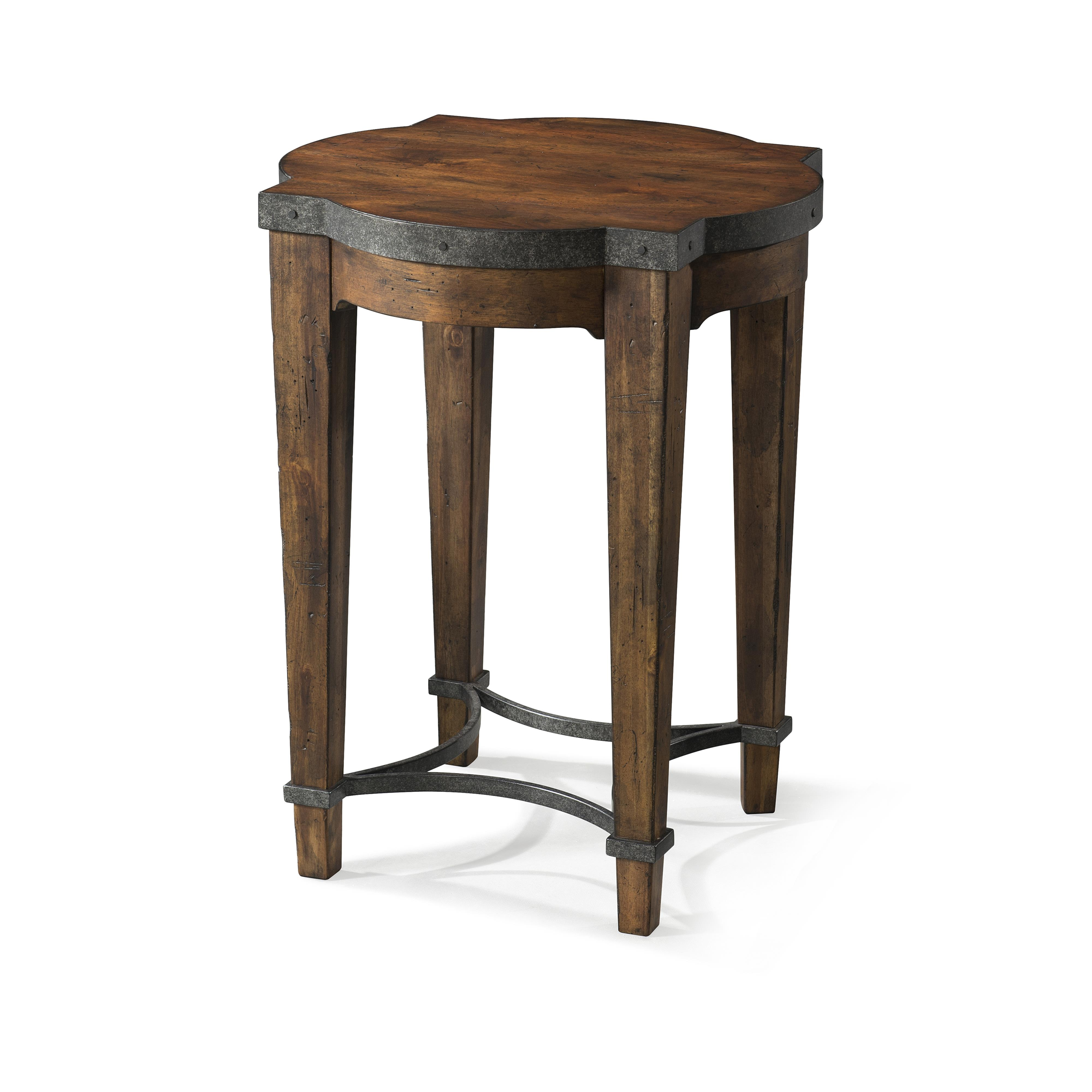 Trisha Yearwood Home Ginko Chairside Table by Trisha Yearwood Home Collection by Klaussner at Darvin Furniture