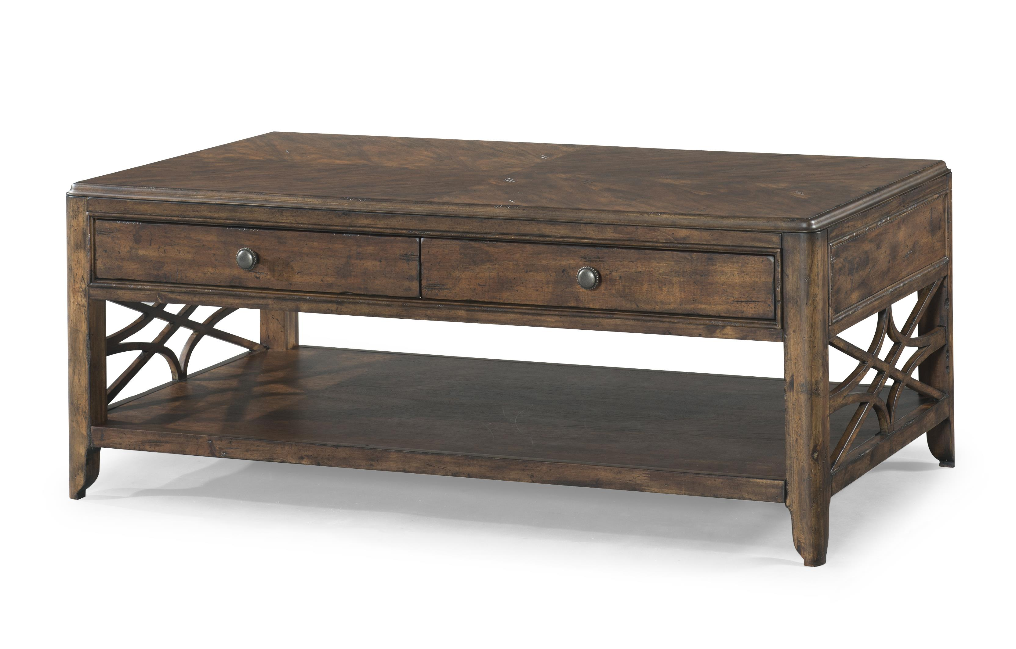 Trisha Yearwood Home Cocktail Table by Klaussner at HomeWorld Furniture