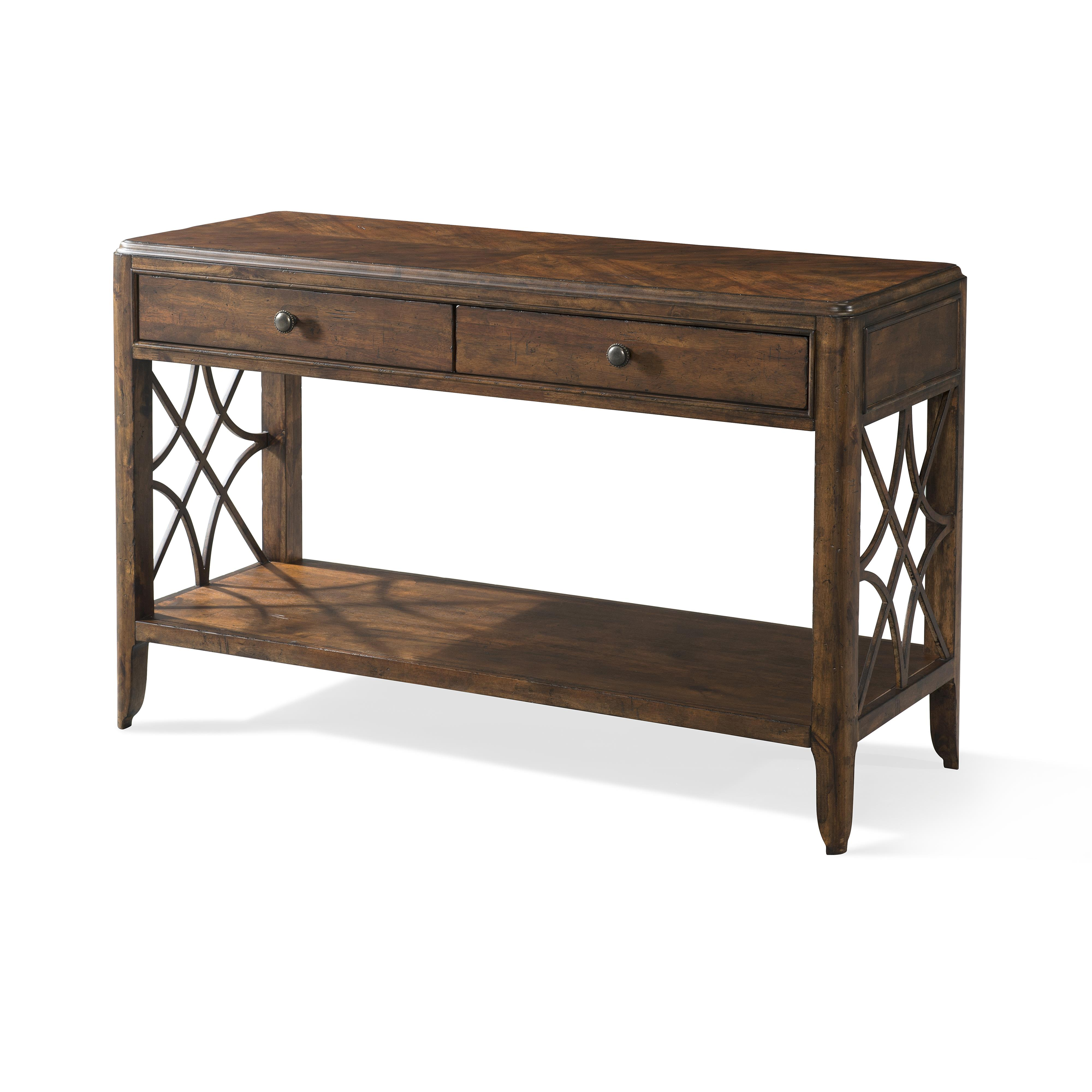 Trisha Yearwood Home Georgia Rain Drawer Sofa Table by Trisha Yearwood Home Collection by Klaussner at Rooms for Less