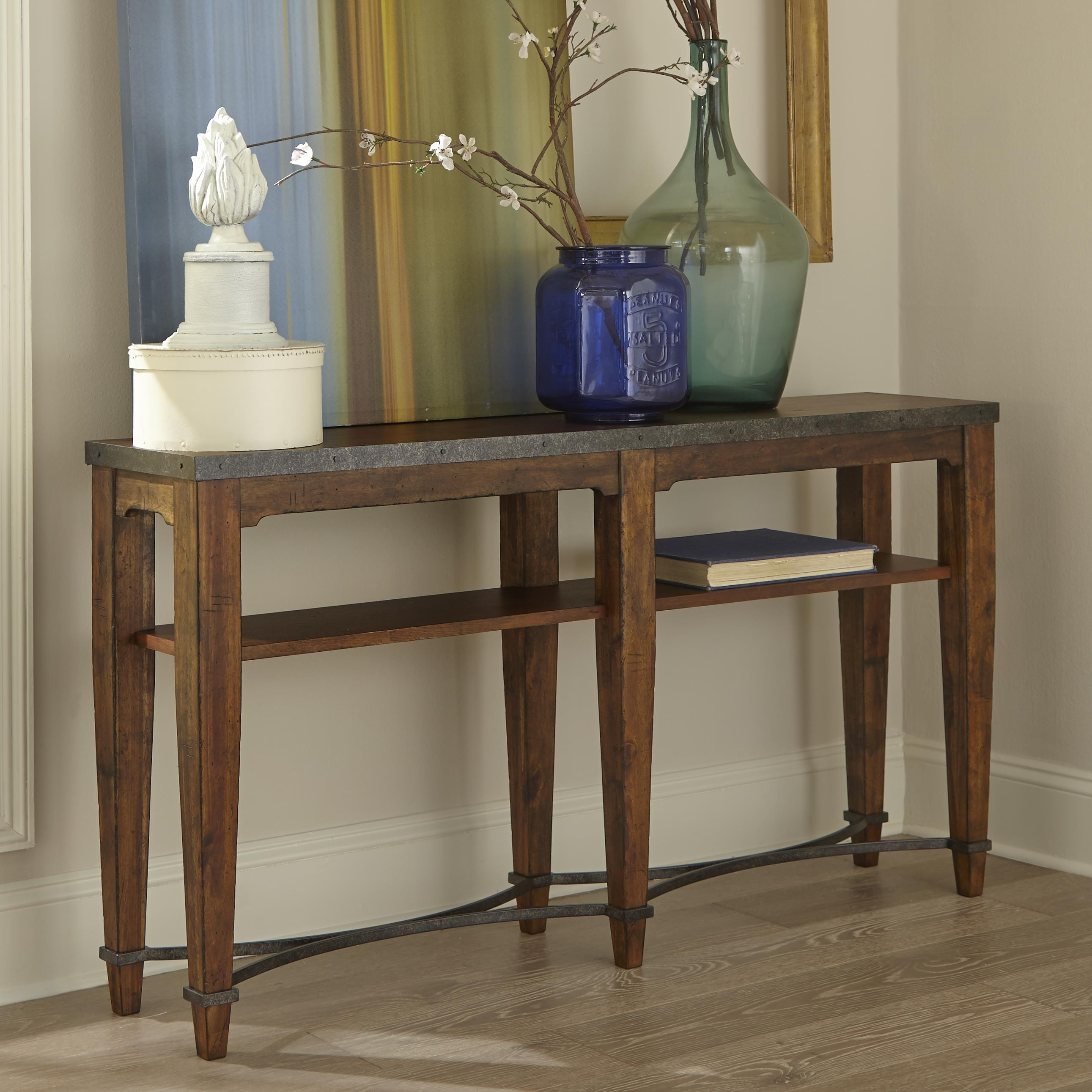 Trisha Yearwood Home Ginkgo Sofa Table by Trisha Yearwood Home Collection by Klaussner at Darvin Furniture