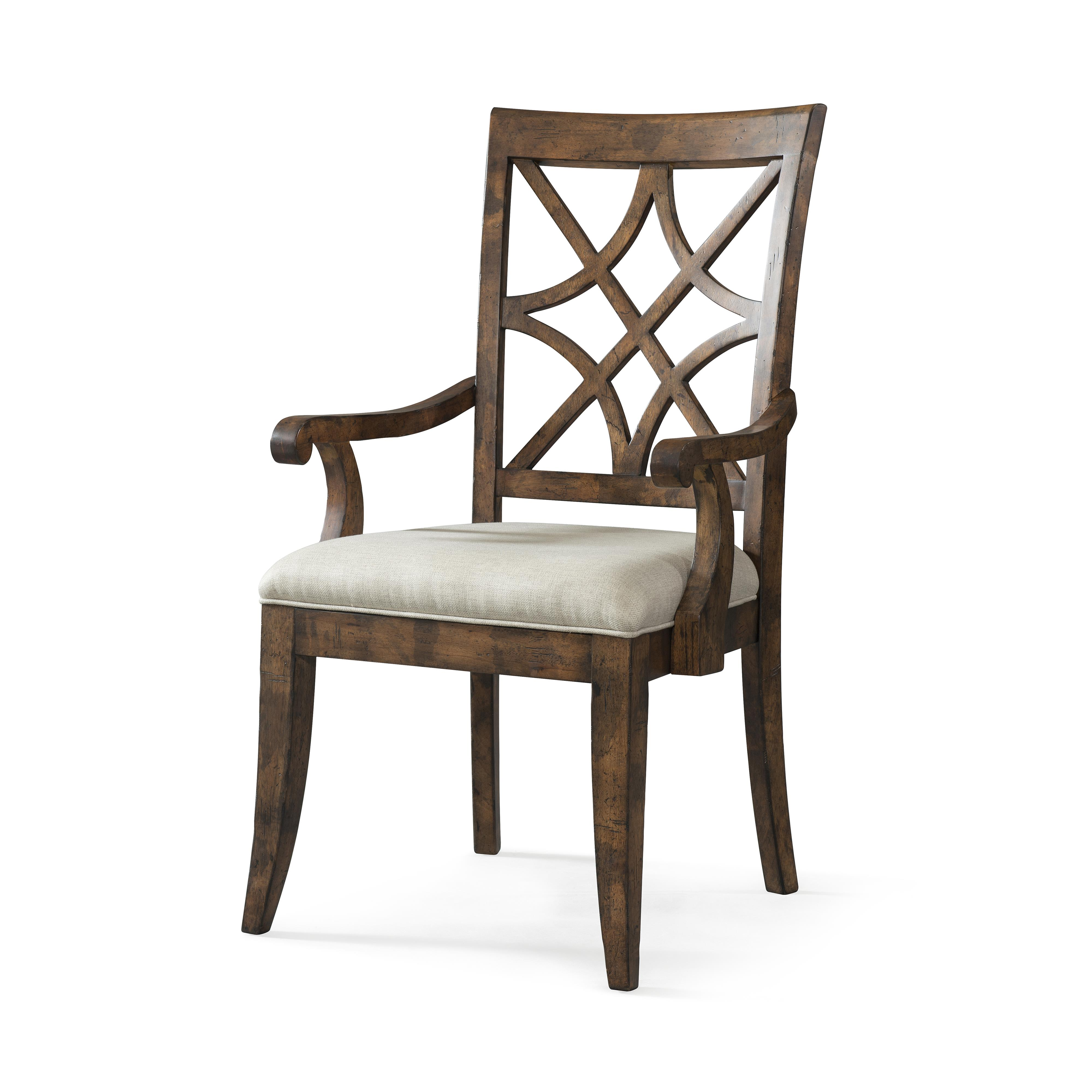 Trisha Yearwood Home Nashville Arm Chair by Trisha Yearwood Home Collection by Klaussner at Darvin Furniture