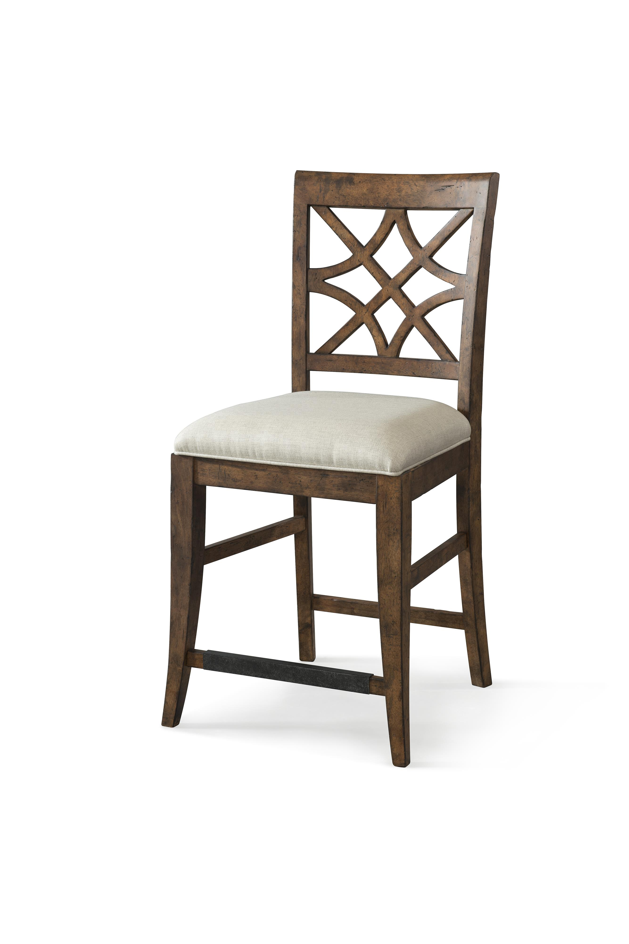 Trisha Yearwood Home Nashville Counter Height Chair by Klaussner at HomeWorld Furniture