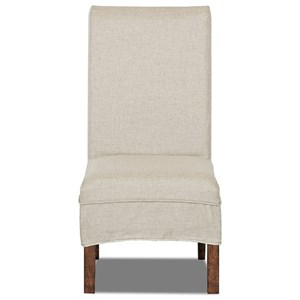 Parsons Chair with Slipcover