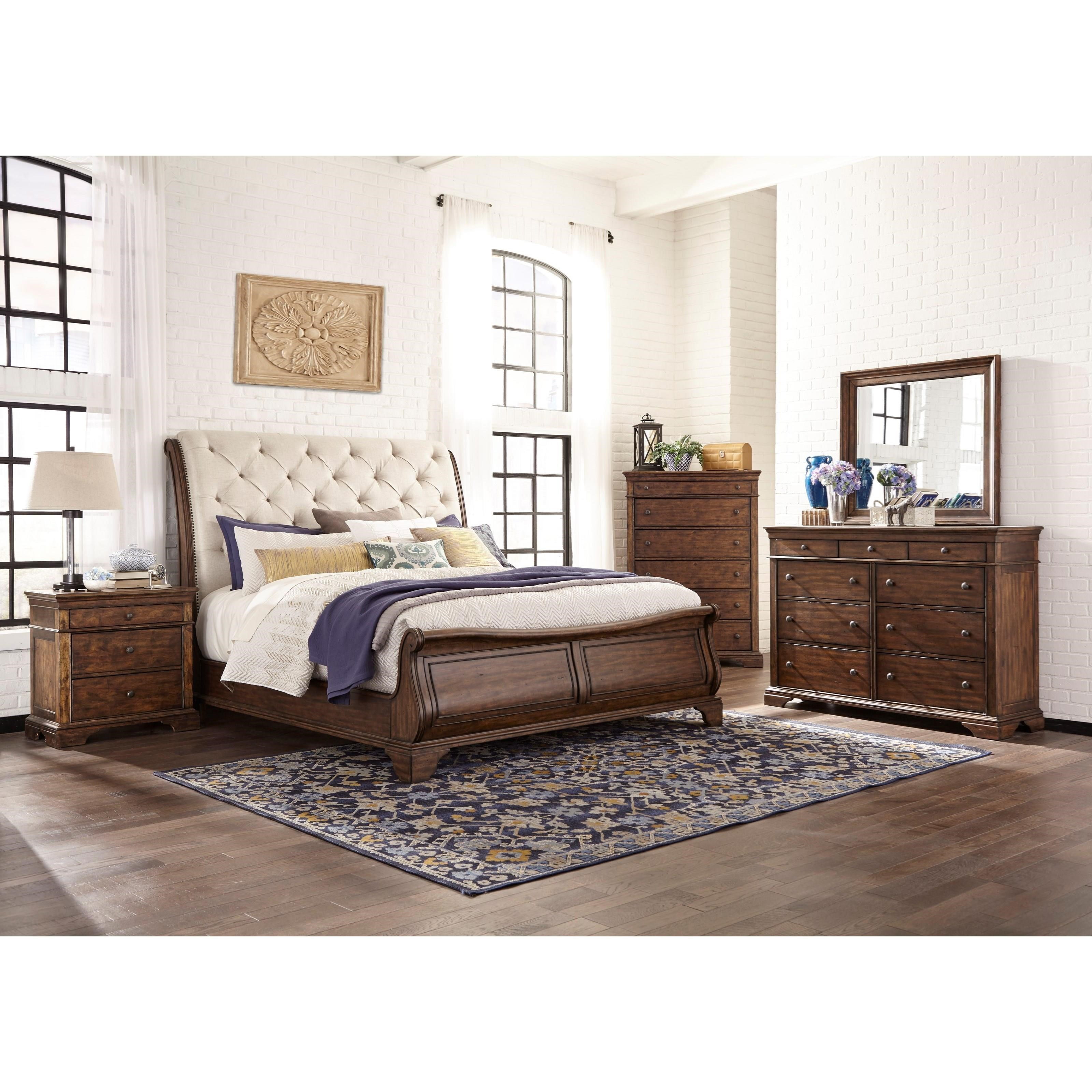 Trisha Yearwood Home 3 Piece Bedroom Set by Trisha Yearwood Home Collection by Klaussner at Darvin Furniture