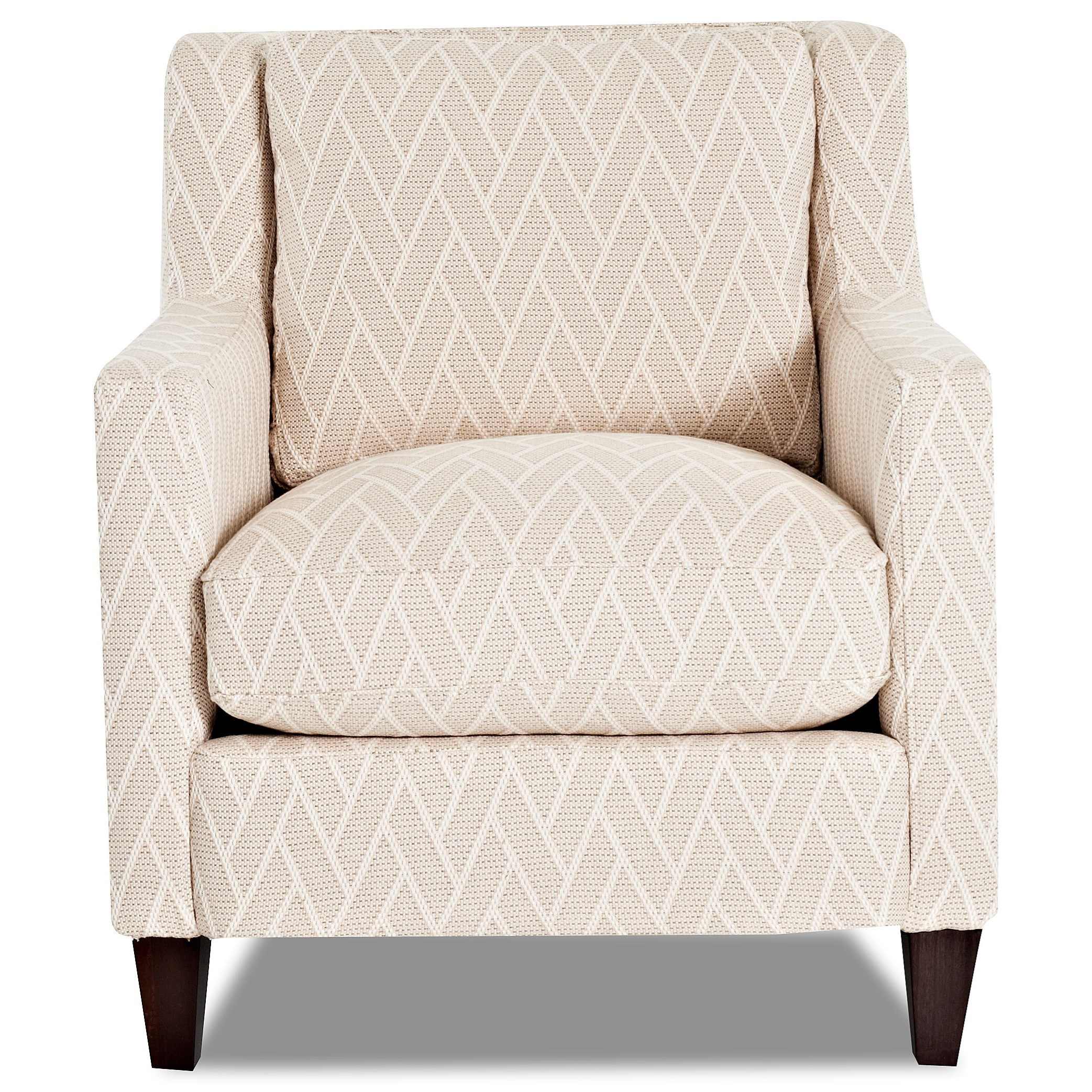 Valley Forge Accent Chair by Klaussner at H.L. Stephens
