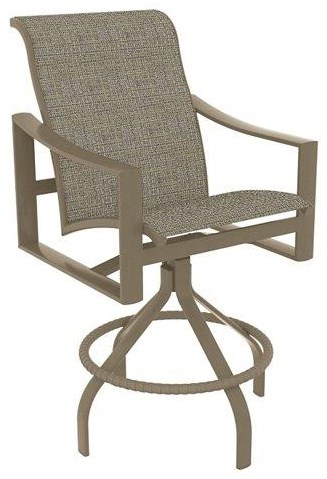 Bar groups Sling Swivel Counter Height Stool by Tropitone at Johnny Janosik