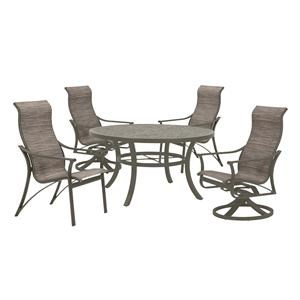 Outdoor Table, Rocker, and Chair