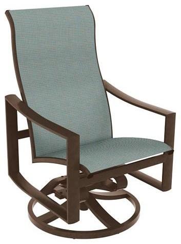 Kenzo High Back Swivel Rocker Chair by Tropitone at Johnny Janosik