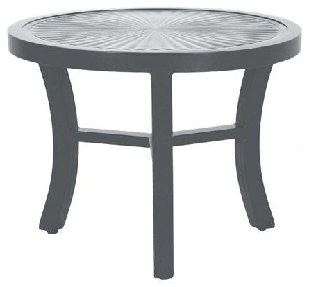 Linea 24 Inch Round Table by Tropitone at Johnny Janosik