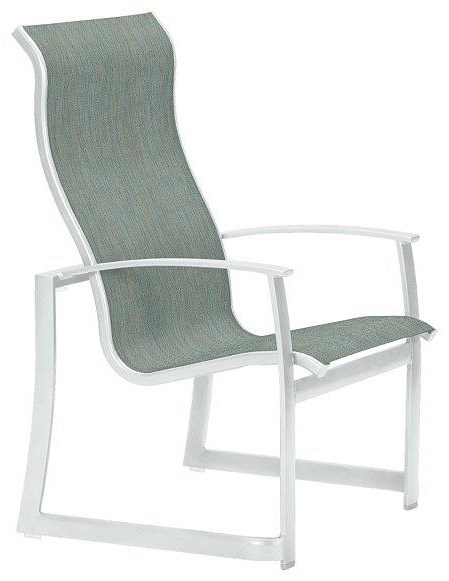 Mainsail High Back Dining Chair by Tropitone at Johnny Janosik