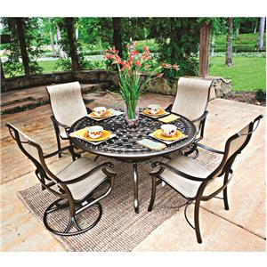 Tropitone Montreux Outdoor Dining Set