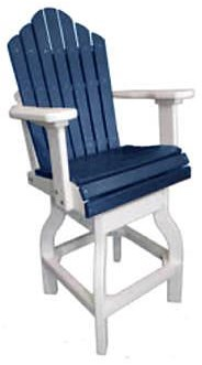 Chairs Counter Swivel Chair by Oceans View Casual at Johnny Janosik