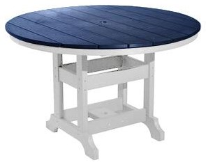 Tables 48 Inch Round Counter Table by Oceans View Casual at Johnny Janosik