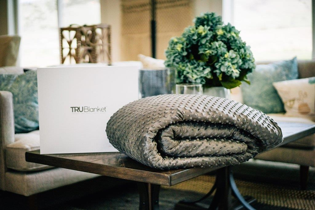 TRUBlanket 15lbs Weighted Blanket by TRU Lite Bedding at Coconis Furniture & Mattress 1st
