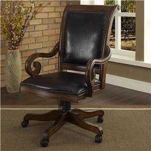 Executive Leather Arm Chair