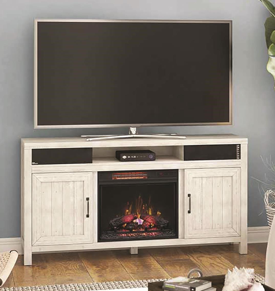 Melissa Media Fireplace W/Speaker Kit by Twin Star Home at Darvin Furniture