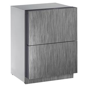 U-Line Refrigerators 4.5 cu. ft. Built-in Two Drawer Refrigerator