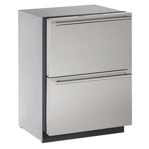 U-Line Refrigerators 4.5 cu. ft. Built-in Two Drawer Refrigerator
