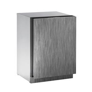 "U-Line Refrigerators 24"" Solid Door Compact Refrigerator"