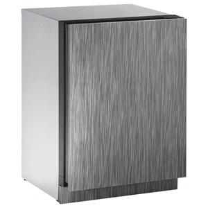"U-Line Refrigerators 24"" Solid Door Refrigerator"