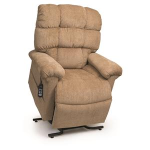 Medium Lift Recliner with Padded Back