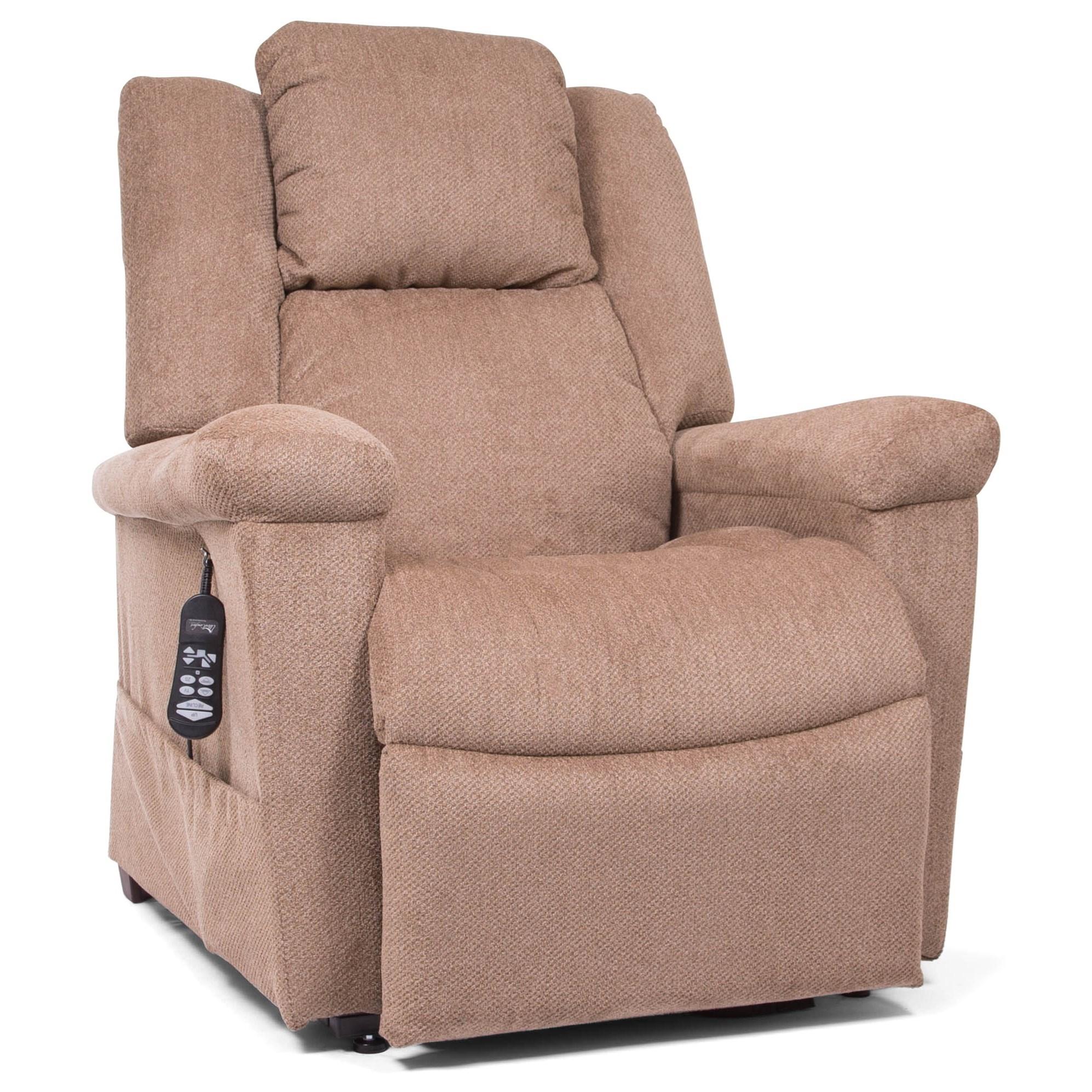 StellarComfort Estrella Power Pillow Lift Chair by UltraComfort at Darvin Furniture