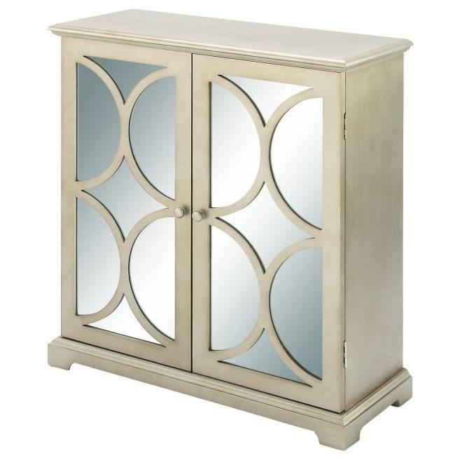 Accent Furniture Wood Mirror Cabinet by UMA Enterprises, Inc. at Wilcox Furniture