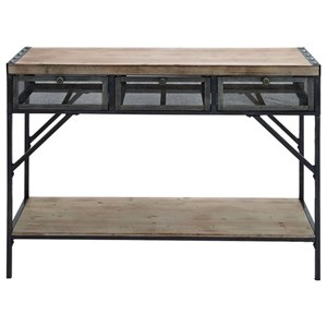 Wood/Metal Console