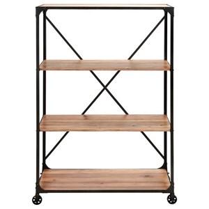 Metal/Wood Shelf