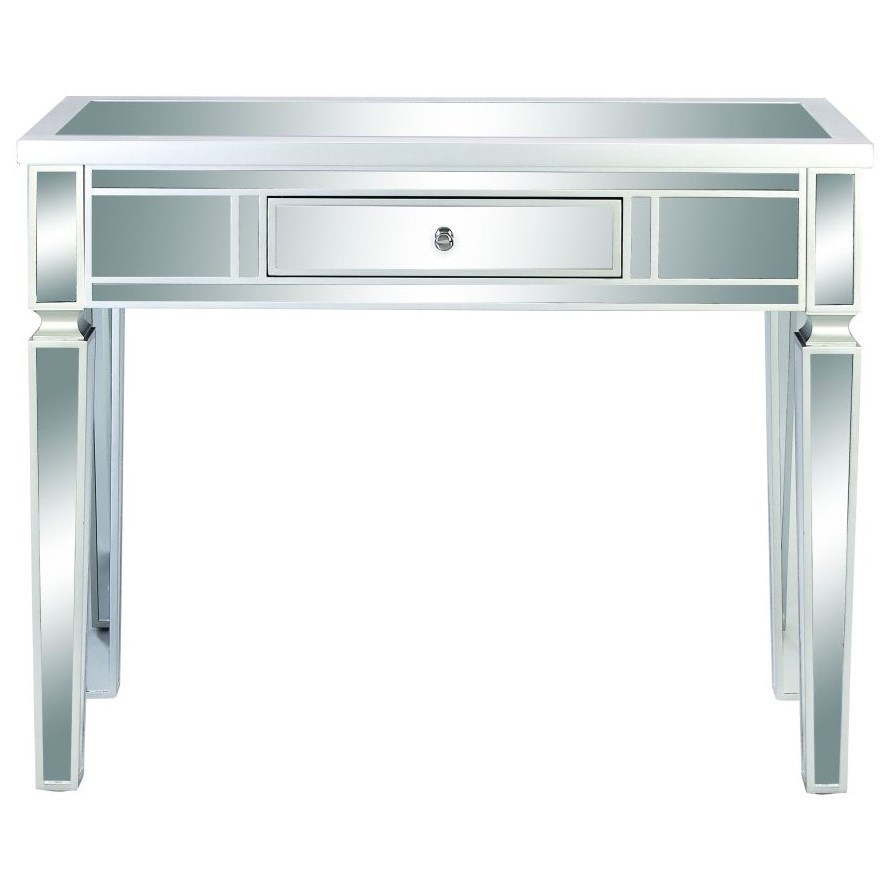Accent Furniture Wood/Mirror Console Table by UMA Enterprises, Inc. at Wilcox Furniture