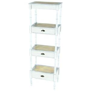 Metal/Wood Storage Shelf