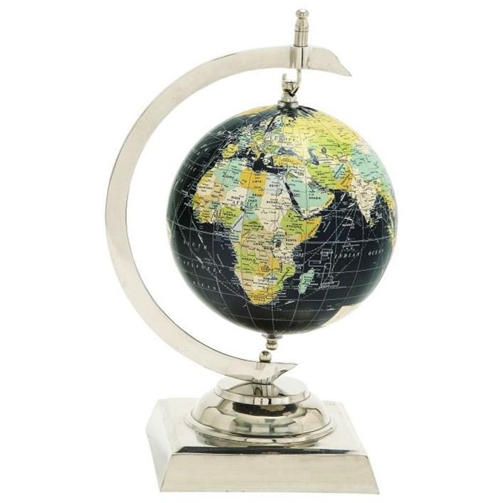 Accessories Aluminum/PVC World Globe by UMA Enterprises, Inc. at Wilcox Furniture