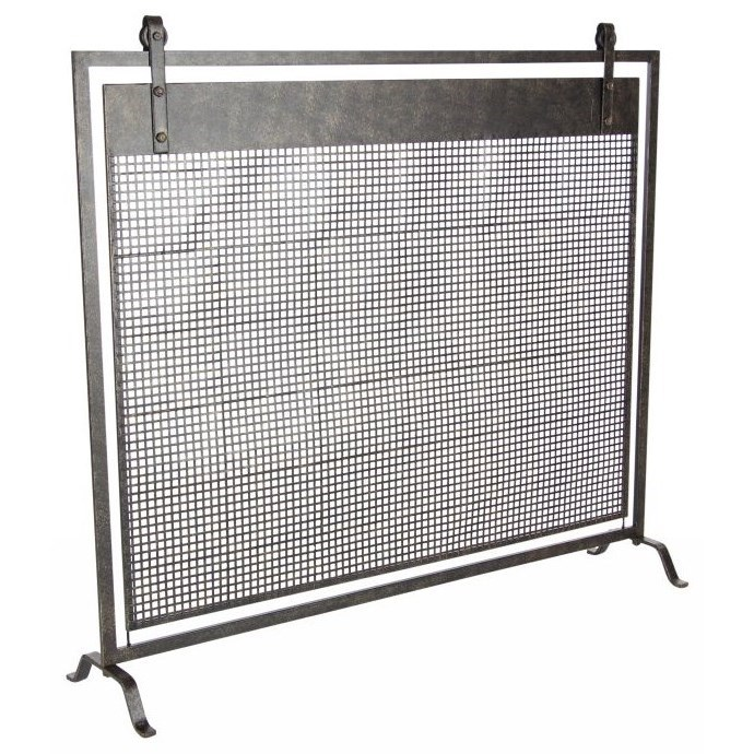 Accessories Metal Fireplace Screen by UMA Enterprises, Inc. at Wilcox Furniture