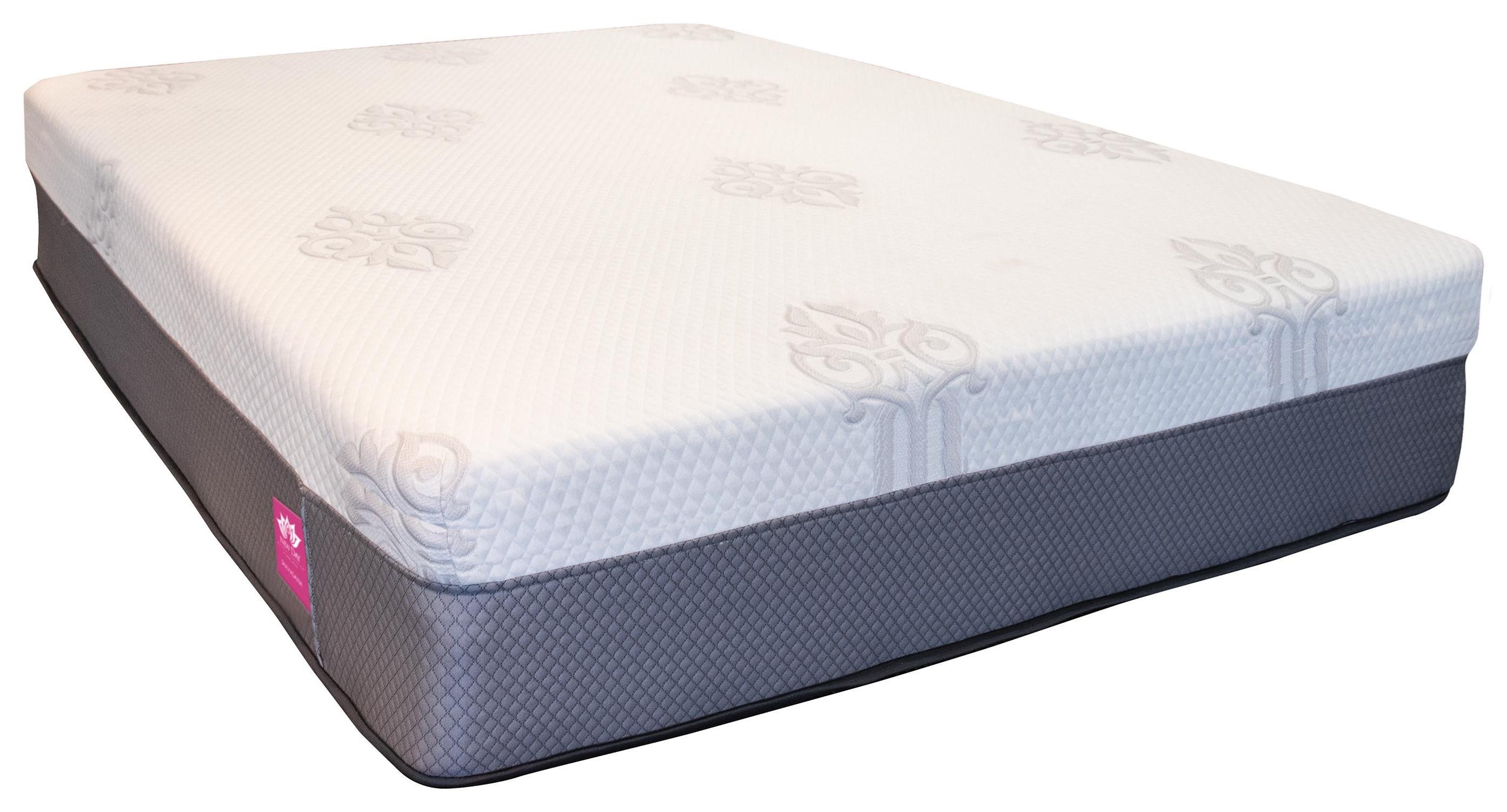 Shavasana Full 11.5 inch Memory/Latex Hybrid by United Bedding at Johnny Janosik