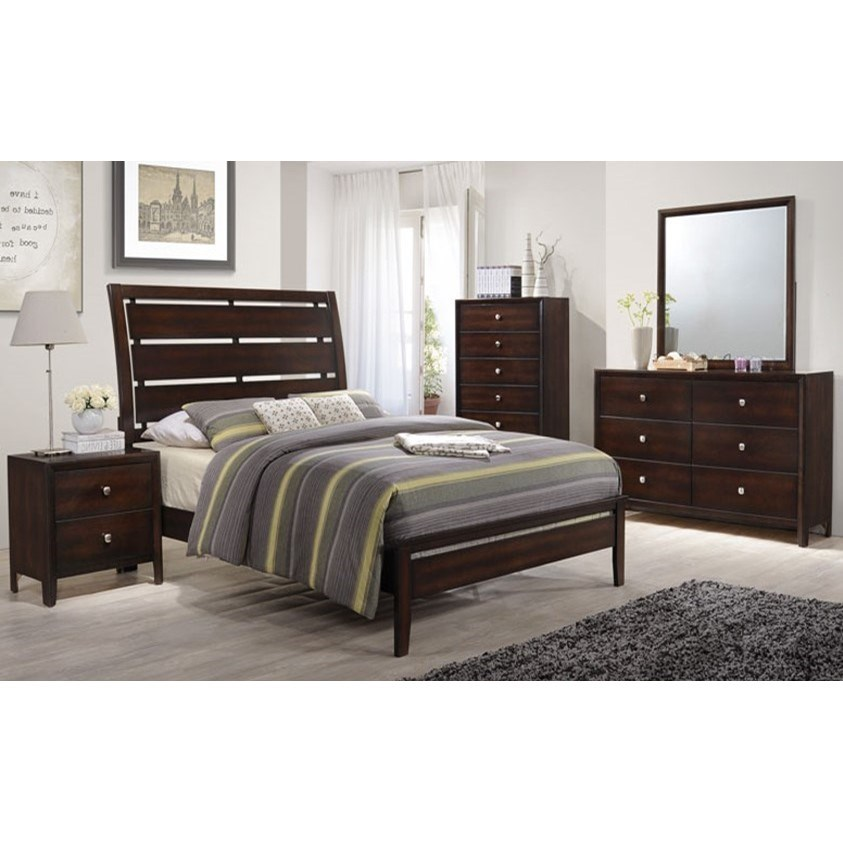 1017 Queen Bedroom Group by Lane at Powell's Furniture and Mattress