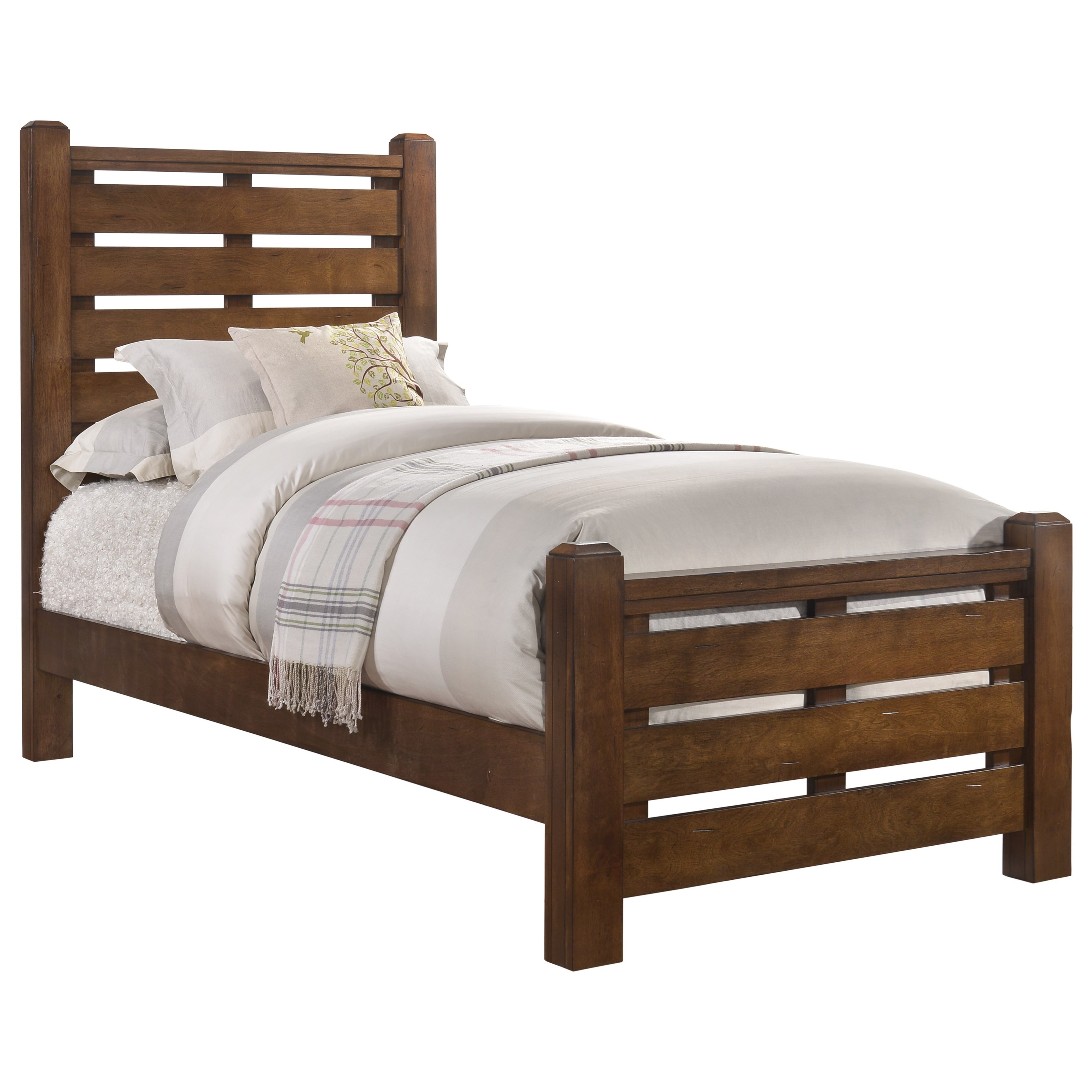 1022 Logan Twin Bed by Lane at Powell's Furniture and Mattress