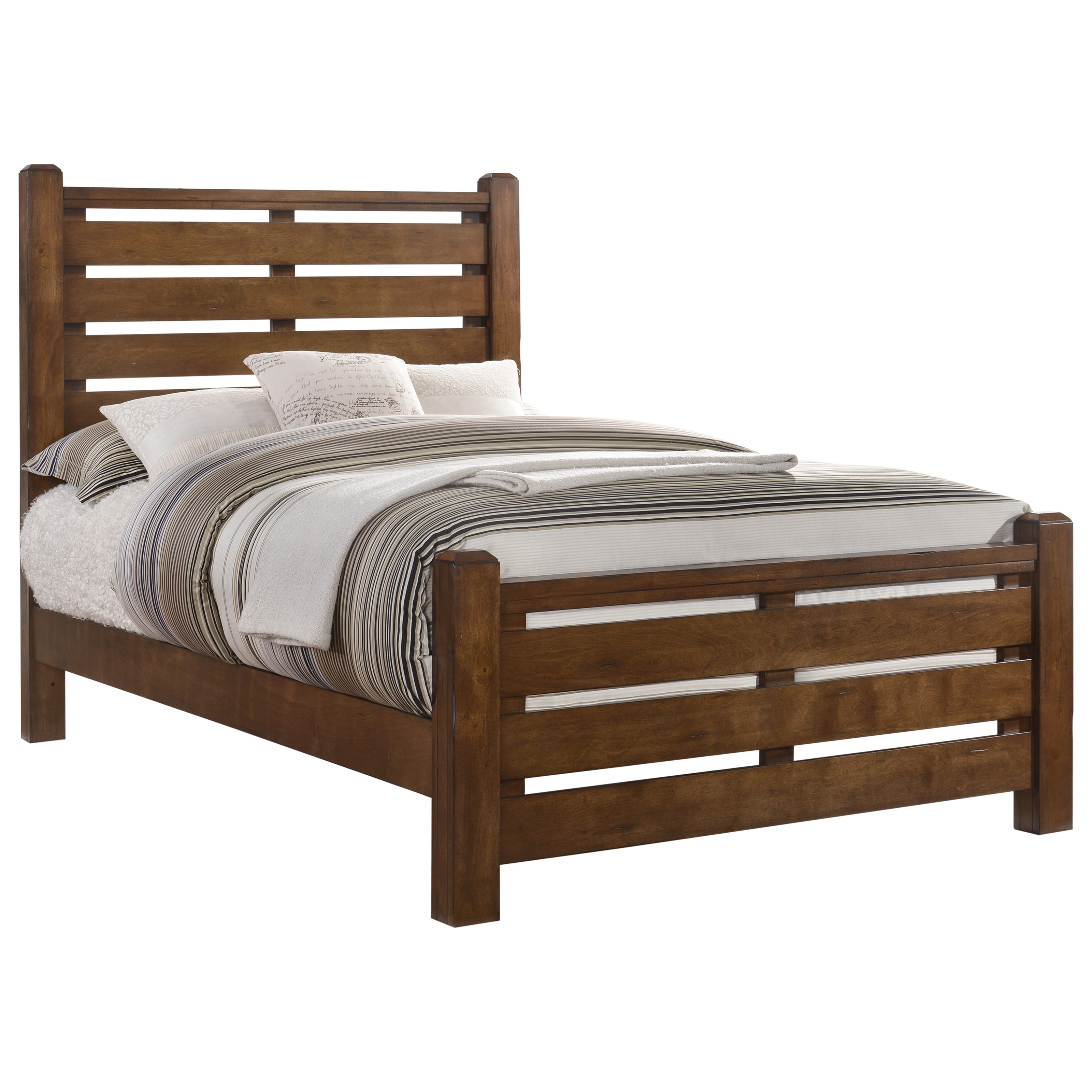 1022 Logan Full Bed by Lane at Story & Lee Furniture
