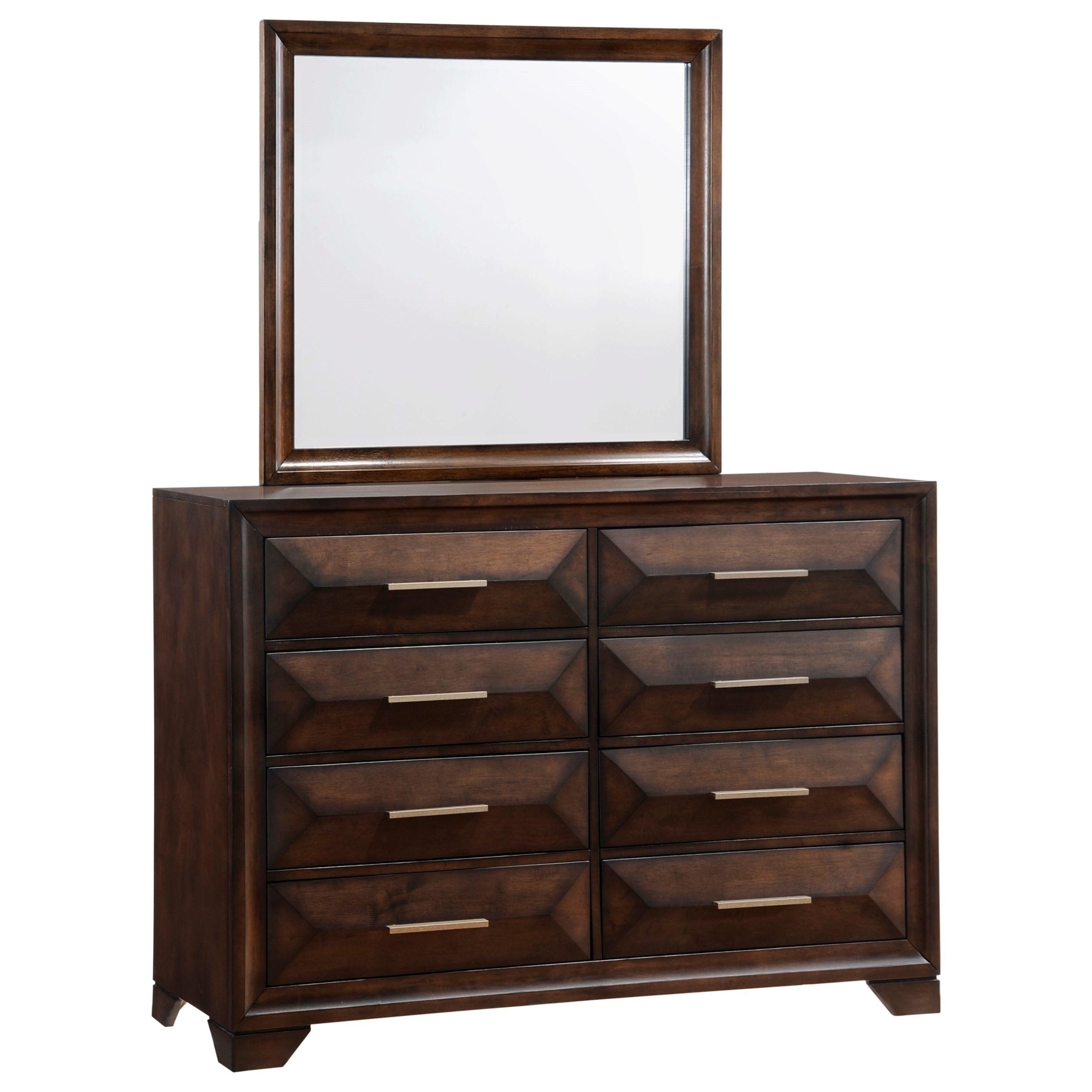 Anthem Dresser and Mirror Set by Lane at Story & Lee Furniture