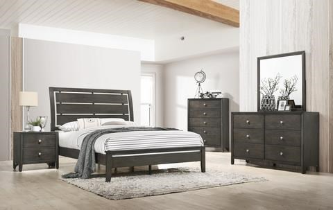 6 Piece King Bedroom Group