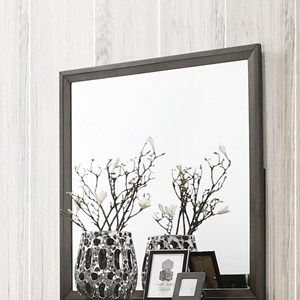 Transitional Mirror with Frame