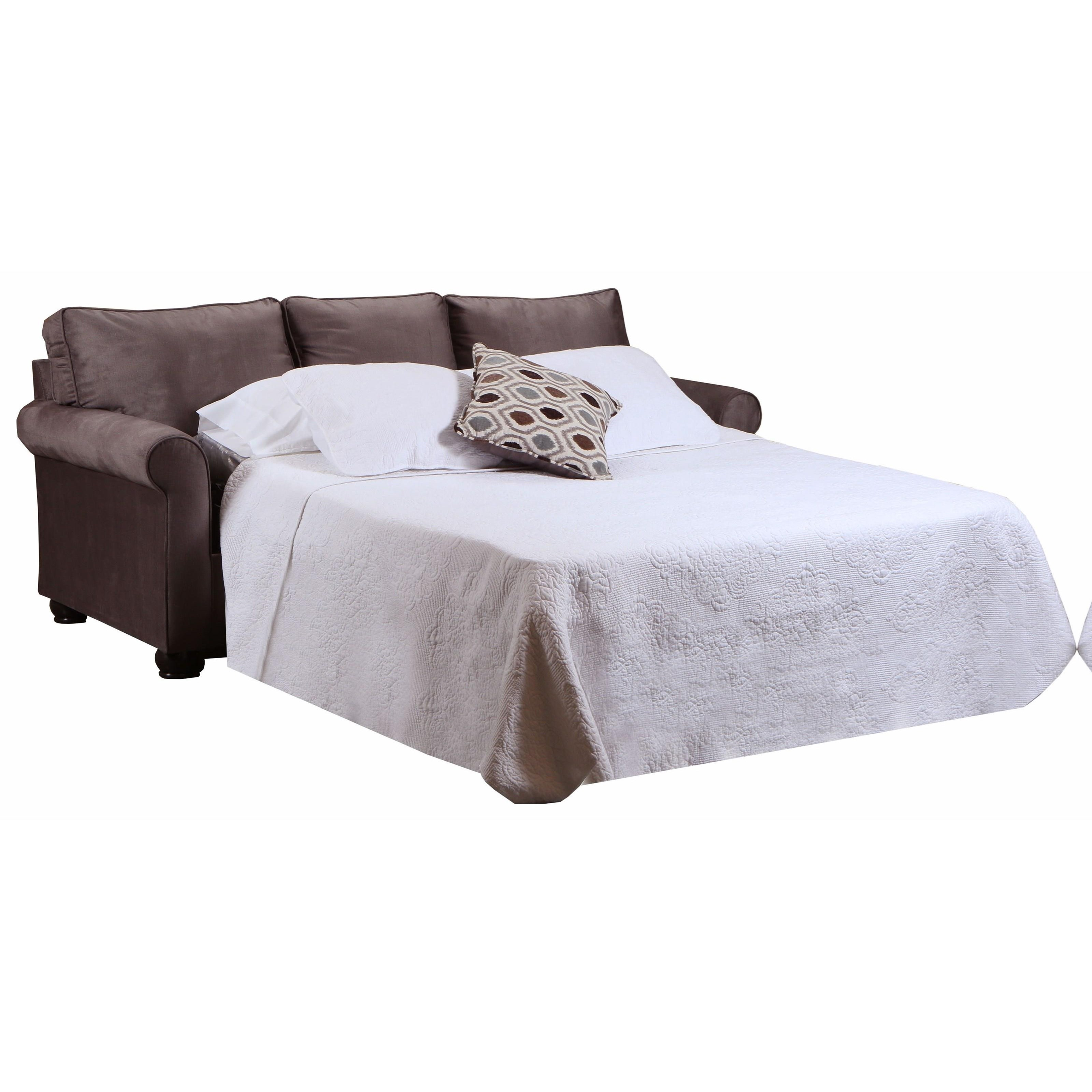 """1530 84"""" Queen Sofa Sleeper by Lane at Powell's Furniture and Mattress"""
