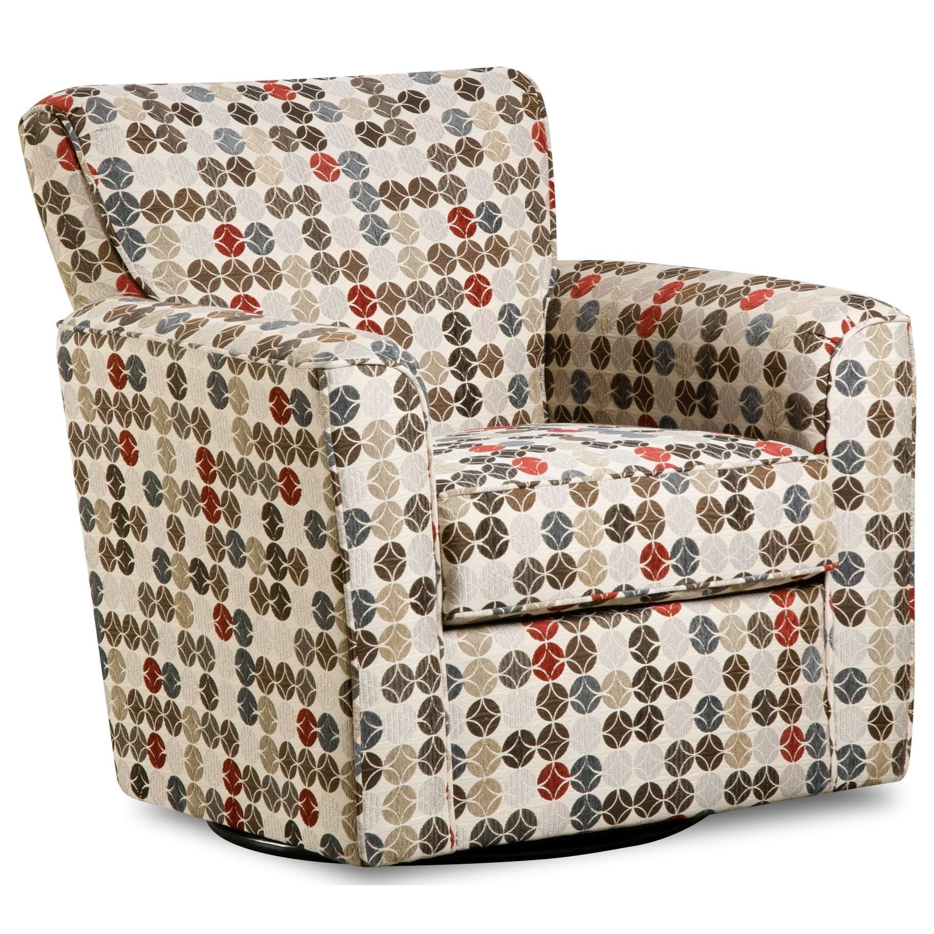 160 Casual Swivel Glider Chair by United Furniture Industries at Bullard Furniture