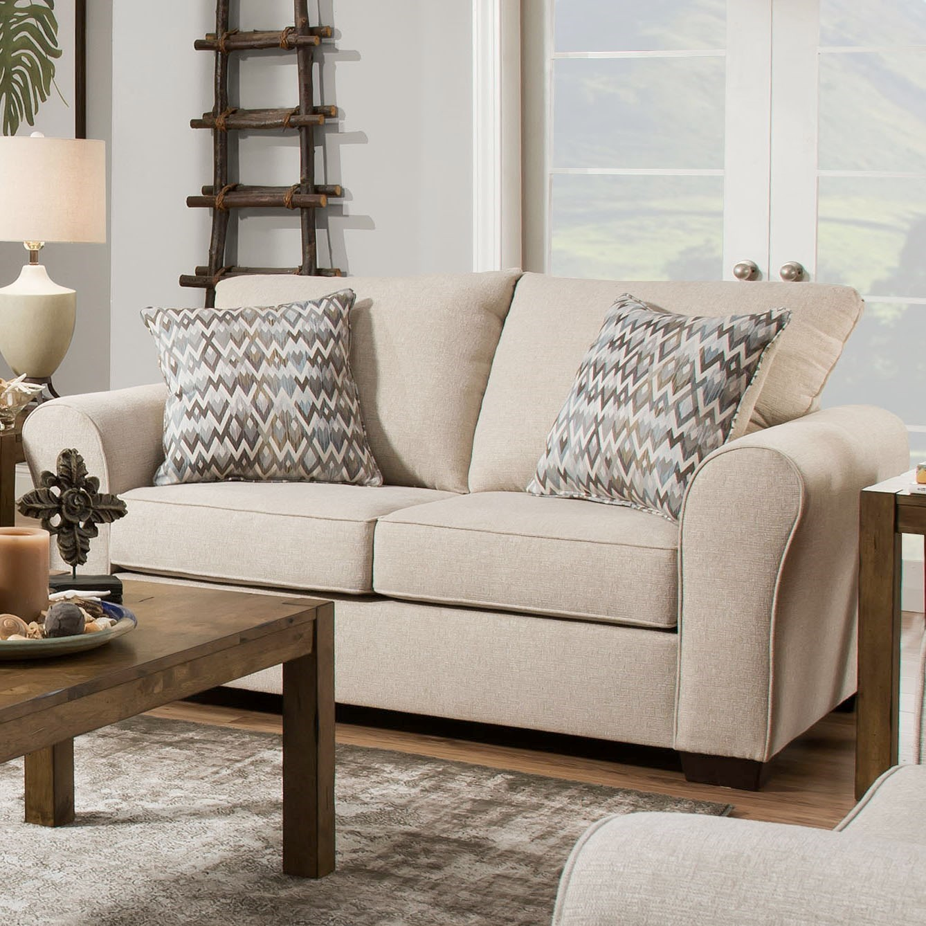 1657  Love Seat by Lane at Powell's Furniture and Mattress