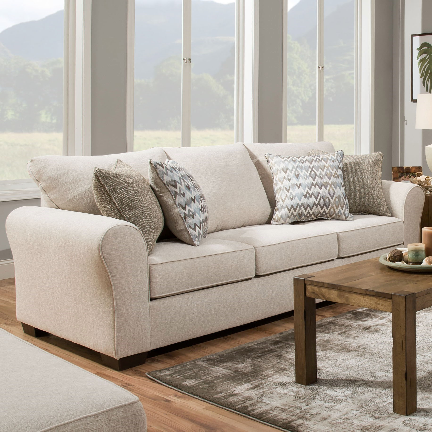 1657  Sofa Sleeper by Lane at Powell's Furniture and Mattress